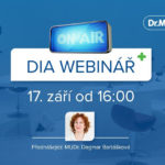 DIA webinář – vysílaní MUDr. Dagmar Bartáškové / Dr. MAX